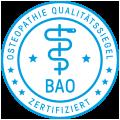 BAO Osteopathie-Zertifikat