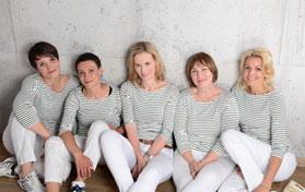 Das Team der Praxis für Physiotherapie & Osteopathie in Rissen